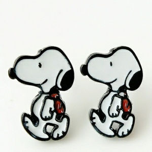 PREVIEW Snoopy Back to School Earrings NWT